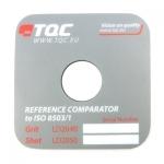Эталон шероховатости (Компаратор профиля поверхности) TQC LD2040 / 2050 по ISO 8503-1