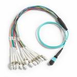 Fluke Networks BKC-MPO-ULC, отводящий шнур - разветвитель 1 м для разъема MM MPO Unpinned LC