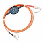 Fluke Networks MRC-625-EFC-SCLC, многомодовый образцовый 2 м шнур (SC-LC) для проверки оконцованных разъёмом LC 62,5µm волокон