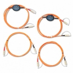 Fluke Networks MRC-625EFC-SCSCKIT, набор многомодовых образцовых шнуров (4 SC/SC) для проверки оконцованных разъёмом SC 62,5µm волокон