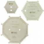 Гексагональная гребенка из нержавеющей стали для определения толщины мокрого слоя TQC SP4000 / 4010 / 4020