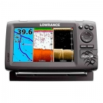 Картплоттер с эхолотом Lowrance Hook-7 Mid/High/DownScan™