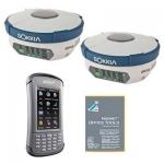 Комплект из двух геодезических спутниковых приемников GRX2 DUHFII/GSM и контроллера Archer2