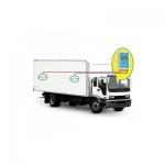 Комплект оборудования для контроля температурного режима в процессе транспортирования скоропортящихся продуктов питания и ИЛП