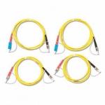 Комплект одномодовых тестовых эталонных кабелей Fluke Networks SRC-9-SCST-KIT (2 м) для тестирования оптоволоконных кабелей ST (2 SC/ST, 2 ST/ST)