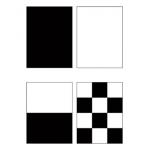Набор контрастных пластин для определения укрывистости