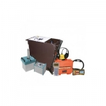 Портативная электротехническая лаборатория для испытания и поиска повреждений кабеля Атлет КАИ-2.501
