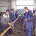 Установка высокоскоростного ПАУЗК бурильных труб