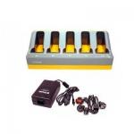 Устройство зарядное для Trimble TCU/S3/S6/S8, комплект (кабель питания и з/у на пять слотов)