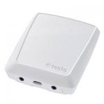 WiFi-логгер данных с 2-я разъемами для подключения зондов измерения температуры и влажности, освещённости или освещённости и УФ-излучения Testo 160 E