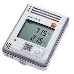 WiFi-логгер данных с дисплеем и встроенными сенсорами температуры, влажности, CO2 и атмосферного давления Testo 160 IAQ